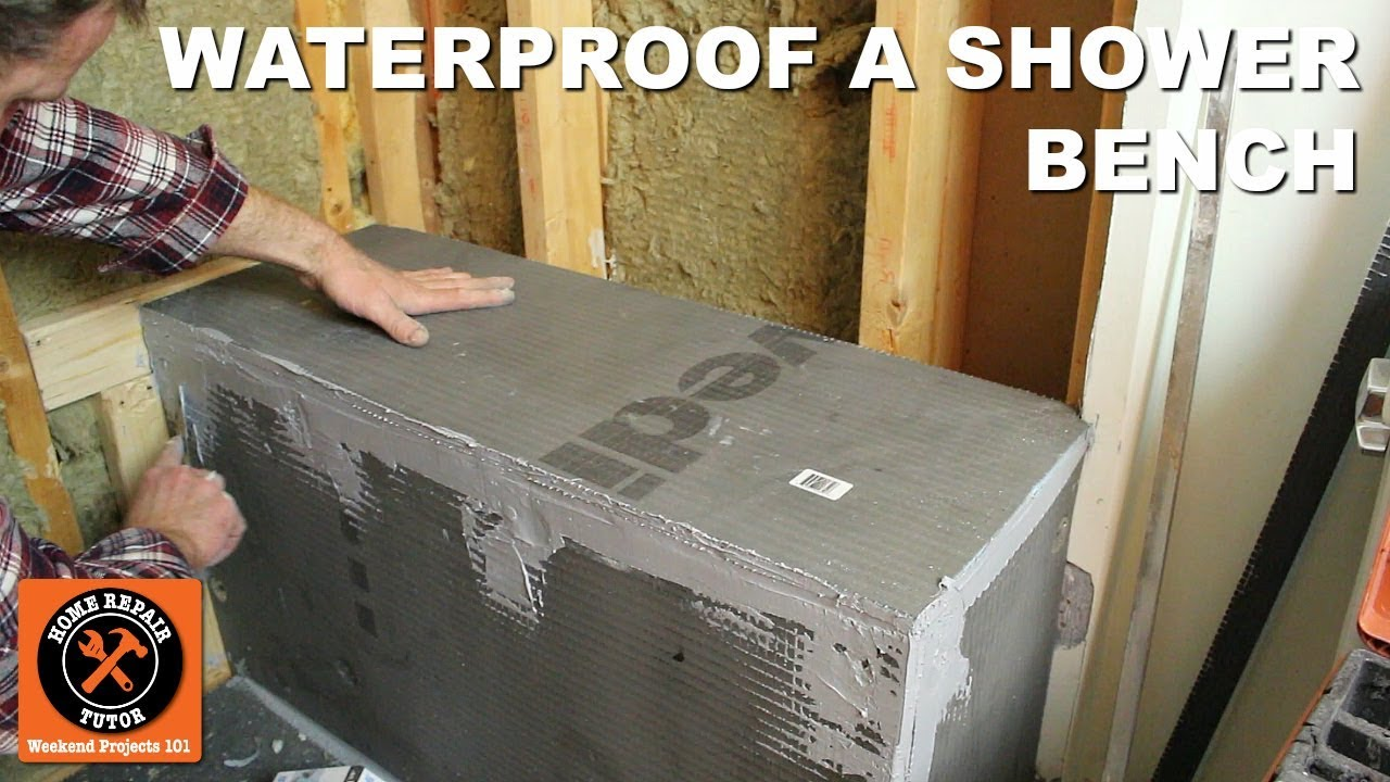 How To Waterproof A Shower Bench Using Wedi (Step By Step)
