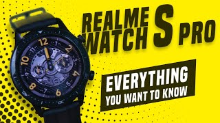 Realme Watch S Pro Unboxing, Feature Overview - Everything You Need to Know!