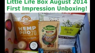 Little Life Box - First Impression Unboxing August 2014! Thumbnail