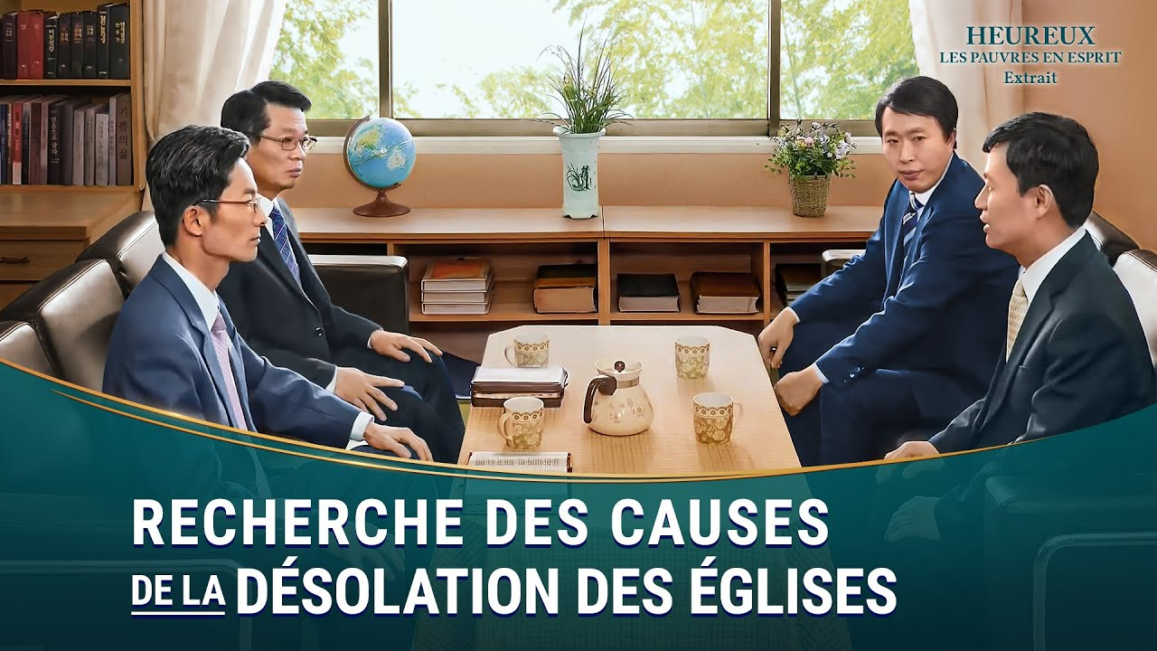 « Heureux les pauvres en esprit » Recherche des causes de la désolation des églises