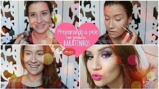 Preparando a pele com produtos BARATINHOS - Semana BBB.