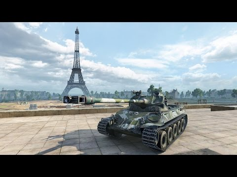 Новый прем в World of Tanks: LORRAINE 40T - тест драйв