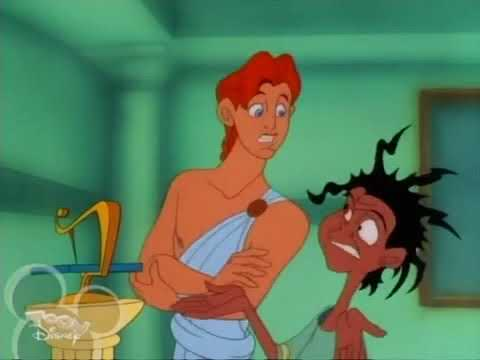 Hercules And The Visit From Zeus