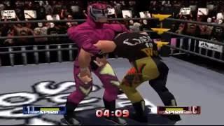 WCW/NWO Revenge - Cruiserweight Championship - Rey Mysterio ( Nintendo 64 )
