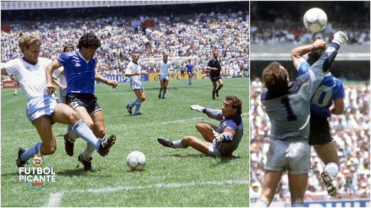 Imperdibles Los Cuatro Minutos Mas Famosos De Diego Maradona En El Mundial Del 86 Futbol Picante Youtube