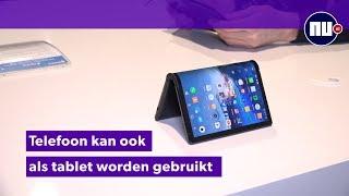 Preview: Eerste opvouwbare mobiele telefoon zit nog vol kinderziektes