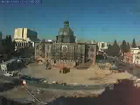 Courthouse Square and History Museum Time Lapse