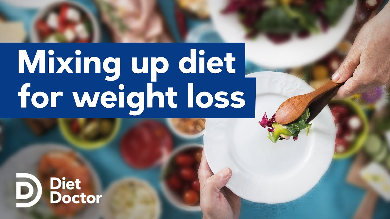 Mixing up your diet may help weight loss