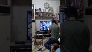 Реакция болельщика на победу . Барселона - ПСЖ ( 6:1 ) 18+