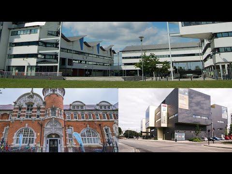 University of East London - Campus Tour (Docklands, Stratford, University Square Stratford)