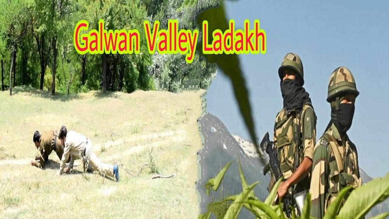 India China At Galwan Ladakh : Kashmiri Drama