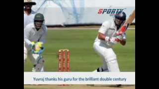 Yuvraj Singh thanks his