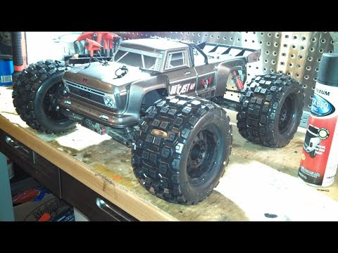 New Arrma Outcast with all the upgrades