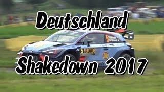 WRC ADAC Rallye Deutschland 2017 (Shakedown)