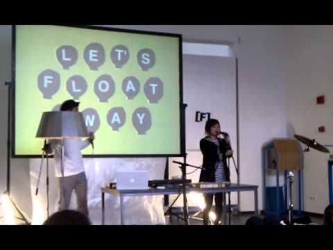 Lullatone live at Fluister, CBK, Dordrecht 10/10/10