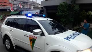 Kedatangan Presiden JOKOWI menuju Pondok Pesantren Al Fitrah Kedinding Lor Surabaya