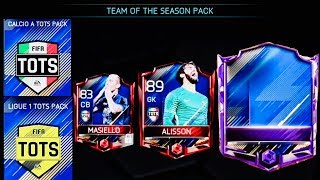 GREATEST TOTS PACKS OPENING IN HISTORY OF MY FIFA MOBILE -91+ MASTERS Pulled/Full Tots gameplay