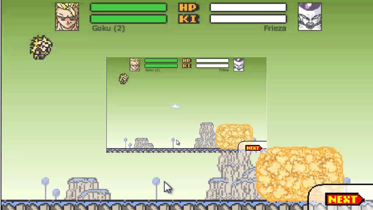 Dragon Ball Z Devolution Spirit Bomb Example Youtube