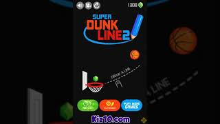 Super Dunk Line 2 Game Walkthrough | Ball Games