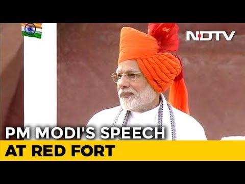 Watch: PM Modi's Full Speech On 72nd Independence Day