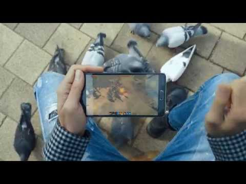 Lineage Eternal Mobile Game Cloud Support Play Anywhere G-Star 2014 NCSoft