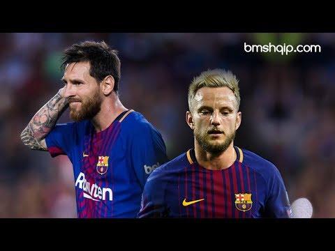 Messi angry with Rakitic (HD)
