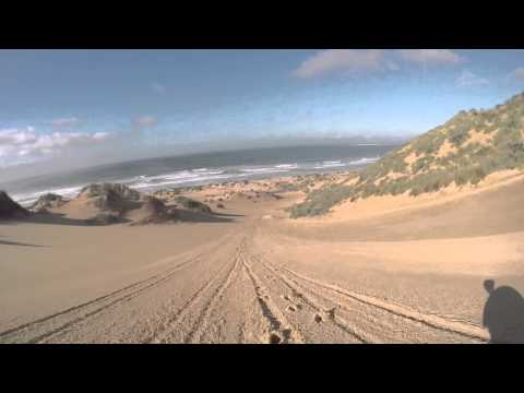 Sandboard The Dragon - sandboarding the dunes in Mossel Bay with Billion Sports