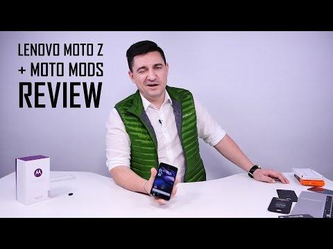 UNBOXING & REVIEW - Lenovo Moto Z - Cel mai modular smartphone (www.buhnici.ro)