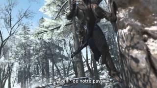 Assassin's Creed 3 - Premier trailer de gameplay [FR]