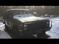 1984 Chevrolet K5 Blazer M1009 CUCV - Walk around
