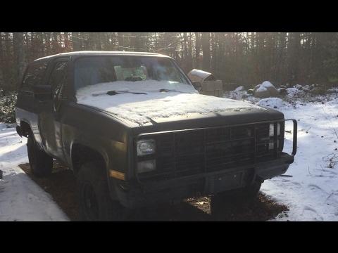 1984 Chevrolet K5 Blazer M1009 CUCV - Walk around