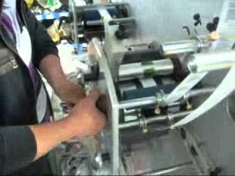 PSF2 1 3 Colors Flexo Label Printing Machinemp4