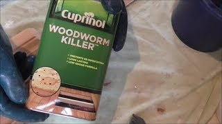 Furniture Beetle Woodworm Identification and Treatment