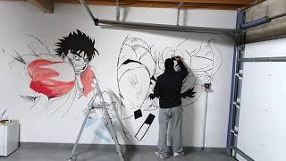 Wall Art - Goku Ultra Instinct / Ippo Makunouchi - Garage
