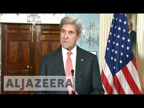 Syria's war: John Kerry urges war crimes probe