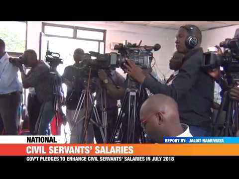 #PMLive: CIVIL SERVANTS' SALARIES REVISED