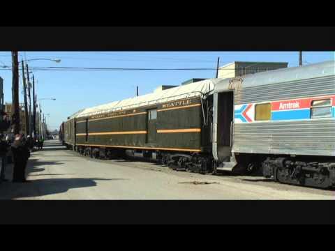 Houston Railroad Museum Move