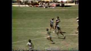1981 World Frisbee Disc Championships ESPN Ultimate Frisbee: Condors v All Stars Demo