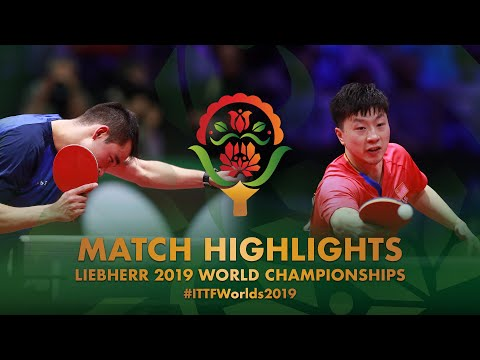 Ma Long Vs Hugo Calderano | 2019 World Championships Highlights (R16)