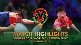 Ma Long vs Hugo Calderano | 2019 World Championships Highlights (R16)