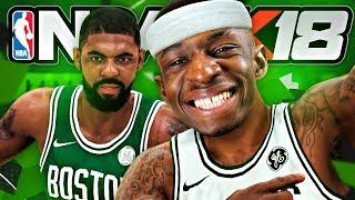 """#2 """"MAKING MY DEBUT?!?"""" TBJZLPlays NBA 2K18 MyCareer"""