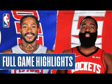 PISTONS at ROCKETS | FULL GAME HIGHLIGHTS | December 14, 2019