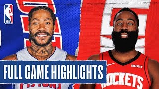 Download PISTONS at ROCKETS | FULL GAME HIGHLIGHTS | December 14, 2019 Mp3 and Videos