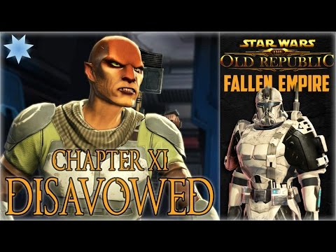 "SWTOR KOTFE Chapter XI ""Disavowed"" Full Playthrough (Trooper Light Side)"