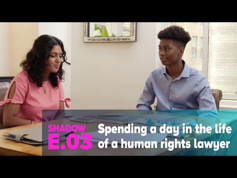 Shadow: NYC Teen Shadows a Human Rights Lawyer for a Day [Law Careers]