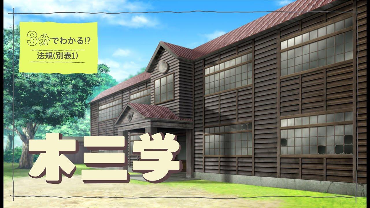 【別表1】木三共・木三学について(建築士試験)