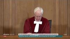 Urteil des Bundesverwaltungsgerichts über Polizeieinsatzkosten im Fußball am 29.03.2019