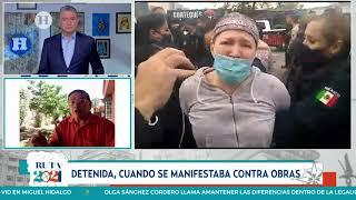 Elecciones México: Detienen a candidata del PRI a presidenta municipal por manifestarse en la calle