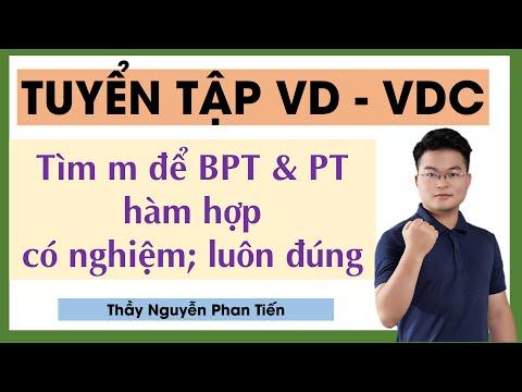 Tìm m để BPT - PT Có Nghiệm, Luôn Đúng với mọi x || Thầy Nguyễn Phan Tiến