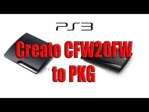 Create Game PKG From CFW2OFW - convert CFW2OFW to Pkg - YouTube